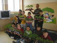 Nikolas et ses élèves