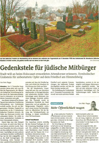 Bericht der Westfalenpost