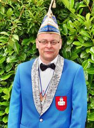 Präsident Volker Noe