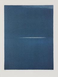 Geneviève Asse, Ouverture de la nuit, 1975, lithographie, collection artothèque du musée des beaux-arts de Brest. © ADAGP, Paris, 2015.