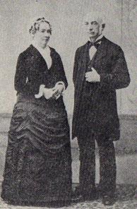 ヘボン夫妻 1890年横浜