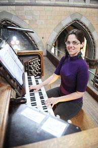 Gabrielle Tessier orgue saint antoine de Padoue Longueuil