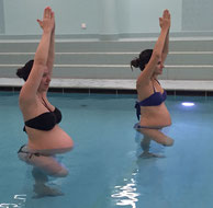 Wasser Yoga für Schwangere in Basel