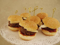 Minihamburguesas de Buey