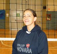 Coach Elisabetta Mauri (prima divisione e u18)