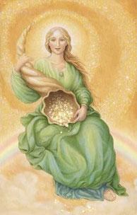 La déesse romaine Abundantia