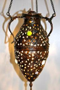 Orientalische Ali Baba Kruglampe zum Aufhängen - CASAORIENT Stuttgart