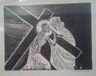 IV Estación, Jesús se encuentra con su Madre en la Vía Dolorosa
