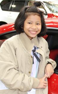 アッムさん(11歳) テーサバーンチュンチョンポムペット学校学校