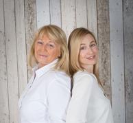 Ihre Immobilienmakler in Wuppertal,  Sylvia Giebl-Kresin und Dipl. Des. Vanessa Feyer
