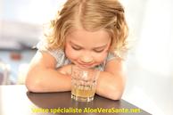 La consommation du gel d'aloe vera - de qualité - est possible pour tous de 18 mois a 99 ans, et même conseillée  LR World - Copyright © AloeVeraSante.net