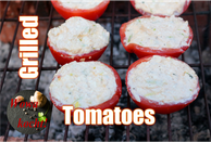 Tomaten gegrillt mit Käse Creme Füllung Rezept