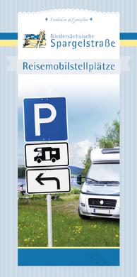 Die E-Broschüre mit den Reisemobilstellplätzen entlang der Niedersächsischen Spargelstraße - nur einen Klick weit entfernt!