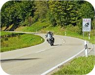 Motorrad Harz