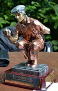 Unser jährlicher Wanderpokal - gestiftet von unserem Mitglied Horst Maske