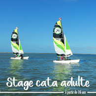 stage catamaran adulte