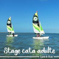 stage catamaran adulte