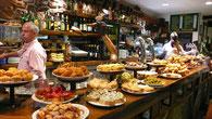 Tapas bar Lizarran in Santa Pola