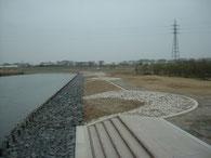 犀川低水護岸工事