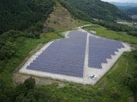 太陽光発電所造成基礎工事