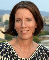 Brit Gloss, Autorin und Kolumnistin, Haus der Presse Dresden, Dachterrasse