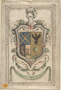 Wappen gestalten - Vollwappen aus dem 18. Jahrhundert
