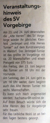 17.06.2017 - Wir Bornheimer