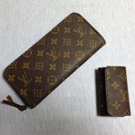 バッグから長財布とキーケースに