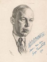 Serge Prokofieff, compositeur  1930