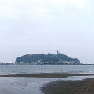 小動岬から見た江ノ島