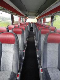 Innenansicht Reisebus Setra S415 GT-HD der Firma Resch