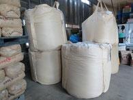 飼料用米の入ったフレコン