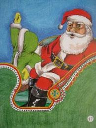 『クリスマスの願いごと』17ページ目