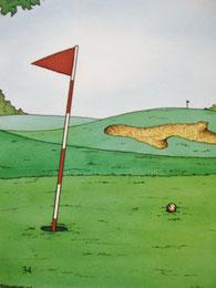『ゴルフの本』34ページ目