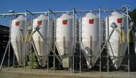 Agro-Widmer Stalleinrichtungen und Silos - Foto Dauertiefpreis Futtersilos