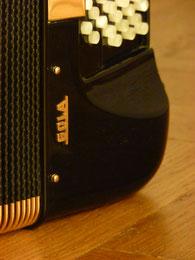 Akkordeon Bassseite