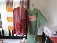 小春屋 仕立てた着物と着物リメイク作品
