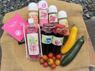 Vege fur ハーモニー 自家製の野菜や無添加標品。