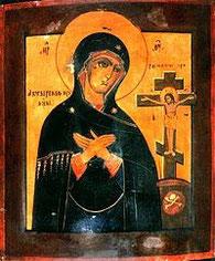 Много совершилось чудесных исцелений от этой чудотворной иконы по вере прибегающих к исходящей от нее благодатной силе.