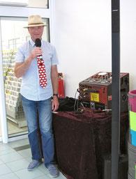 Moderator Uckermark Bernd Winkler Kerkow Moderator, Dorffest DJ