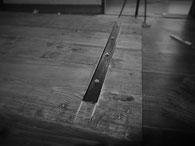 鉄脚用天板補強