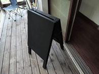 A型黒板看板