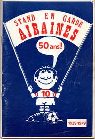 Fascicule 50ème anniversaire du Stand En Garde d'Airaines