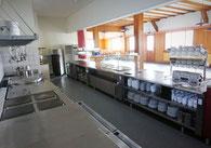 Voll ausgerüstete Küche