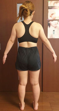 DNAパーソナル痩身を体験された30代女性