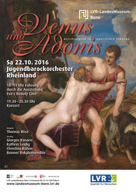 Plakat Venus und Adonis, c) LVR-LandesMuseum Bonn