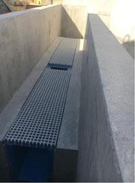 Canal de comptage en béton - constructio  Pajot Entreprise