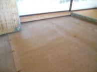 畳の下板 工事
