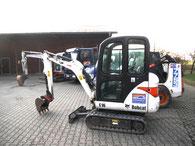 Bobcats für Ausgrabungen