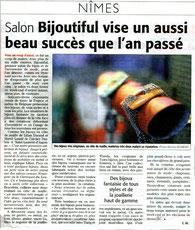 Midi Libre 20 avril 2007